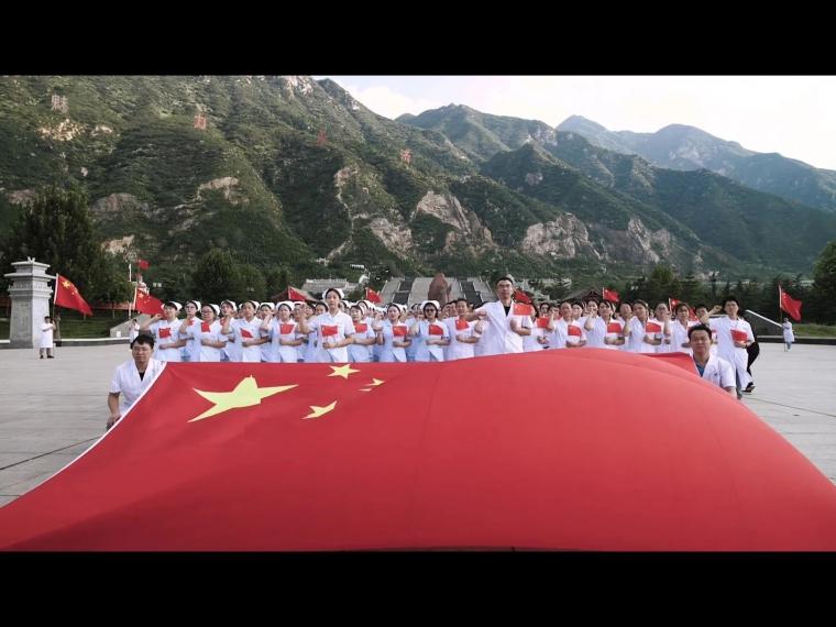 永济市人民医院献礼新中国成立70周年